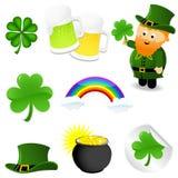 St_Patrick's_set Stock Photography