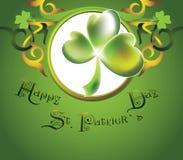 St.Patrick `s Tagesauslegung lizenzfreie abbildung