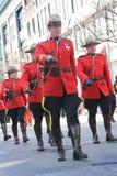 St.Patrick Tag in Montreal. Stockfoto
