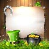 St Patrick Tageshintergrund stock abbildung