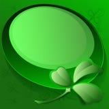 St Patrick Tageskarte Lizenzfreie Abbildung