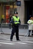 St Patrick Tagesparade New York 2013 Lizenzfreies Stockbild
