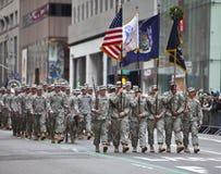St Patrick Tagesparade New York 2013 Lizenzfreie Stockfotografie