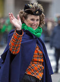 St Patrick Tagesparade New York 2013 Stockbilder