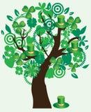 St. Patrick Tree Royalty Free Stock Photo