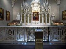St Patrick u. x27; s-Kathedrale in New York, das ein Heiliges ehrt Lizenzfreies Stockbild