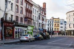 St Patrick ulica w korku Obrazy Royalty Free