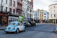 St Patrick ulica w korku Fotografia Stock