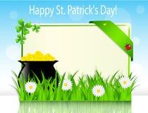 St. Patrick van de affichevakantie Dag Royalty-vrije Stock Afbeeldingen