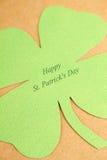 St. Patrick van de groetkaart Dag Stock Fotografie
