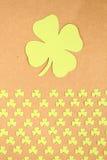 St. Patrick van de groetkaart Dag Royalty-vrije Stock Foto