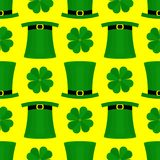 St Patricka天平的样式 免版税库存照片