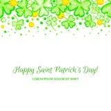 St Patricks天假日框架 图库摄影