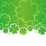 St Patricks天背景 免版税库存图片