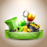 St Patricks天-传染媒介象 库存图片