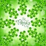 St. Patricks日看板卡 免版税图库摄影