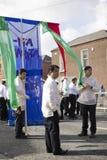 st patricks парада дня Стоковые Фотографии RF