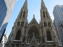 St. Patricks 5th Ave Stock Photo