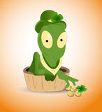 St. Patrick's Alien Royalty Free Stock Photos