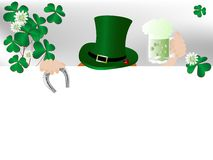 St.Patricks background Stock Photography