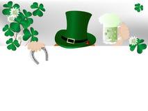 St.Patricks background Stock Photography