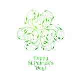 St. Patricks background Royalty Free Stock Photos