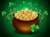 St patricks background Royalty Free Stock Photography