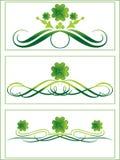 St patricks banner illustration Stock Images