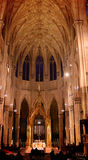 St Patricks Cathedral Inside. Inside view of St. Patrick`s Cathedral Royalty Free Stock Photos