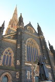 Historical church Melbourne  Royalty Free Stock Photos
