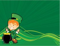 St. Patricks corner Royalty Free Stock Photos
