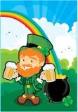 St. Patricks corner Stock Photo