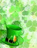 St Patricks dagachtergrond Royalty-vrije Stock Foto's