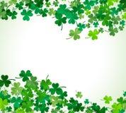 St Patricks dagachtergrond Illustratie Stock Afbeeldingen