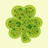 St Patricks Dagenkaart Royalty-vrije Stock Afbeeldingen