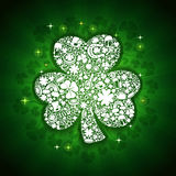 St Patricks Dagenkaart Stock Afbeeldingen