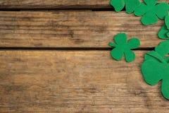 St Patricks dagklavers Royalty-vrije Stock Afbeeldingen