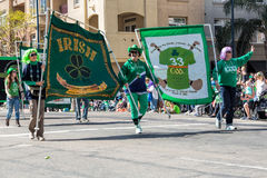 St. Patricks Dagparade Royalty-vrije Stock Fotografie