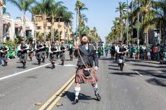 St. Patricks Dagparade Stock Foto's