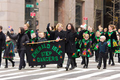 St. Patricks Dagparade NYC Royalty-vrije Stock Foto's