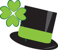 St Patricks Day. Clover hat Royalty Free Stock Photography