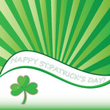 St. Patricks Day abstract background. Vector Stock Photos