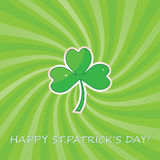 St. Patricks Day abstract background. Stock Photography