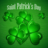 St Patricks Day abstract background. Royalty Free Stock Images