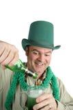 St Patricks Day Anticipation Stock Photo