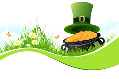 St. Patricks Day Background Royalty Free Stock Photo