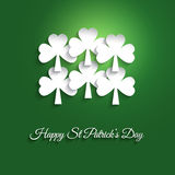 St Patricks Day background Stock Image