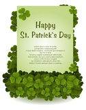 St patricks day background Royalty Free Stock Photography