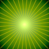 St.Patricks Day background. Abstract green burst St.Patricks Day background Royalty Free Stock Photography
