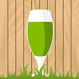 St. Patricks Day background. With beer Royalty Free Stock Images